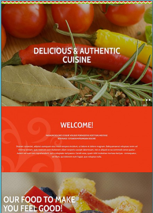 Restaurant and Food Store Websites