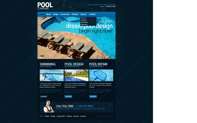 Pool Design 1